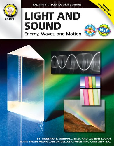 Light and Sound, Grades 6 - 12 (Expanding Science Skills Series)