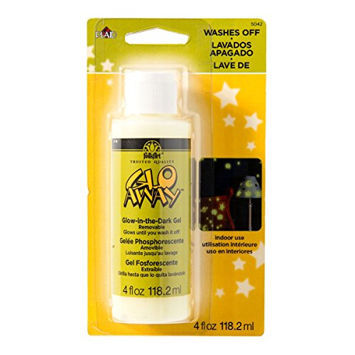 Plaid Glo-Away Washable Acrylic Paint (4-Ounce), 5042
