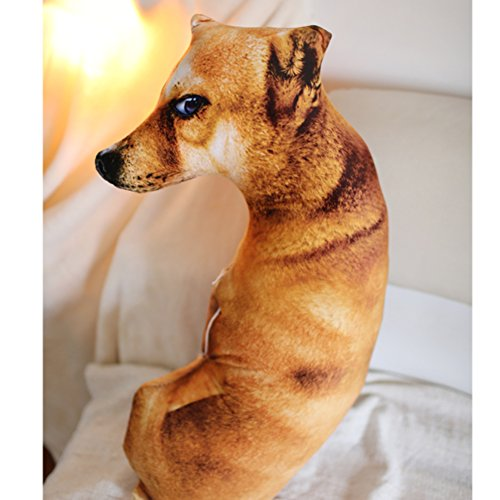 L&J 3d Plush Toy Creative Lifelike Dog Cute Pillow-B 90(35inch)