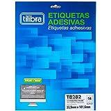 Etiqueta Adesiva Inkjet/Laser Carta 33,9mmx101,6mm TB6282 - Caixa com 25 Folhas, Tilibra