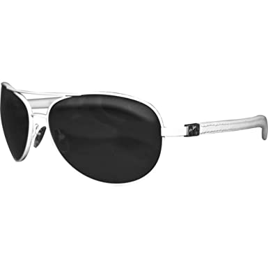 Amazon.com: Gafas de sol plateadas Dagger SPAK, color blanco ...
