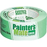 "Painter's Mate 1042430 8-Day Painting Tape, Green (Single Roll), 1.88""x 60 yd"