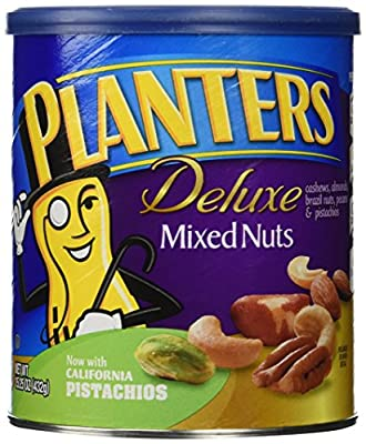 Planters Deluxe Mixed Nuts, 15.25 Ounce (432g) from Kraft