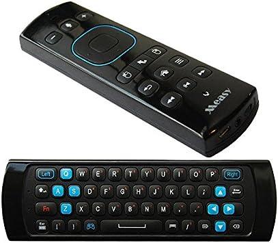 Measy GP830 2.4 G Aire Ratón Mini inalámbrico QWERY teclado Control remoto Gyro para Smart TV Caja de Intel MX M8S Android TV Box: Amazon.es: Electrónica