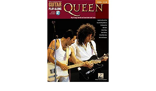 Guitar Play-Along Volume 112: Queen. Partituras, CD para Guitarra ...
