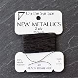 Metallic Thread | Black Diamond | Many Colours Review and Comparison