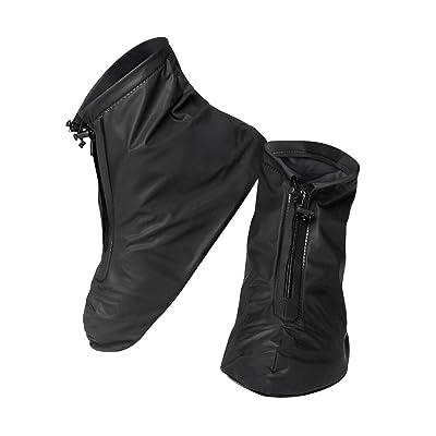 AIU pluie Couvre-chaussures 1Paire de couvre-chaussures imperméable unisexe antidérapant