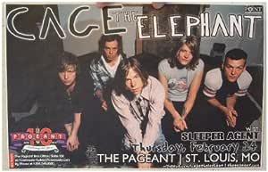 Amazon.com: Cage The Elephant Handbill Poster St. Louis MO ...
