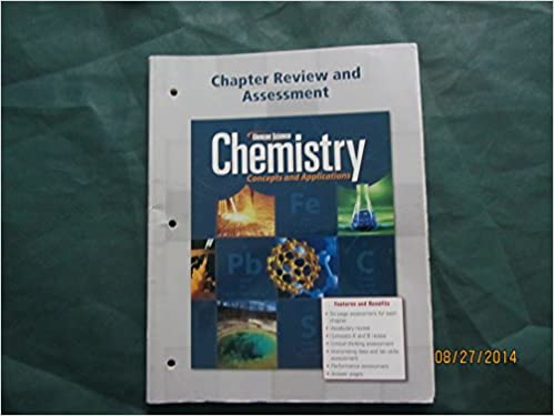 Glencoe Science Chemistry Concepts And Applications Chapter