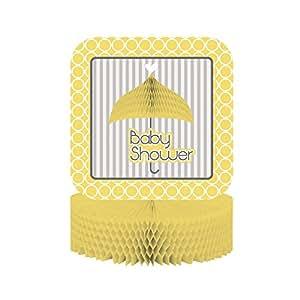Creative Converting Mod Baby Shower Centerpiece Honeycomb - 51671