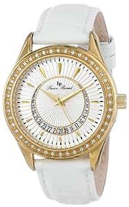 Lucien Piccard Women's LP-12721-YG-02 Crosa Analog Display Japanese Quartz White Watch