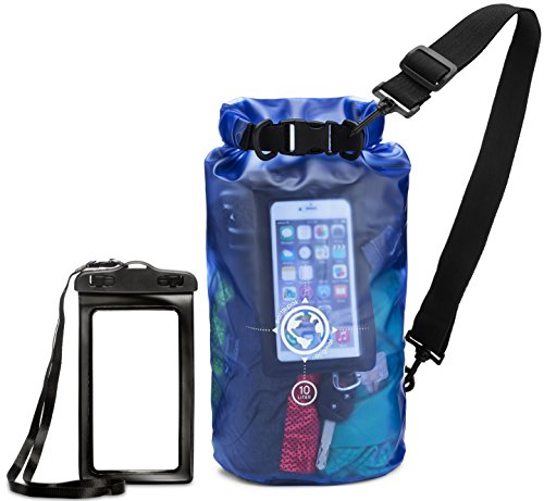 61550e38c6 Earth Pak Dry Bag and Waterproof Phone Case - 10L   20L - Transparent So You