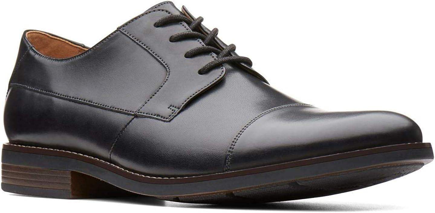 TALLA 39.5 EU. Clarks Becken Cap, Zapatos de Cordones Derby para Hombre