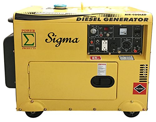 POWER PRODUCTS SIGMA 7000W SILENT DIESEL GENERATOR