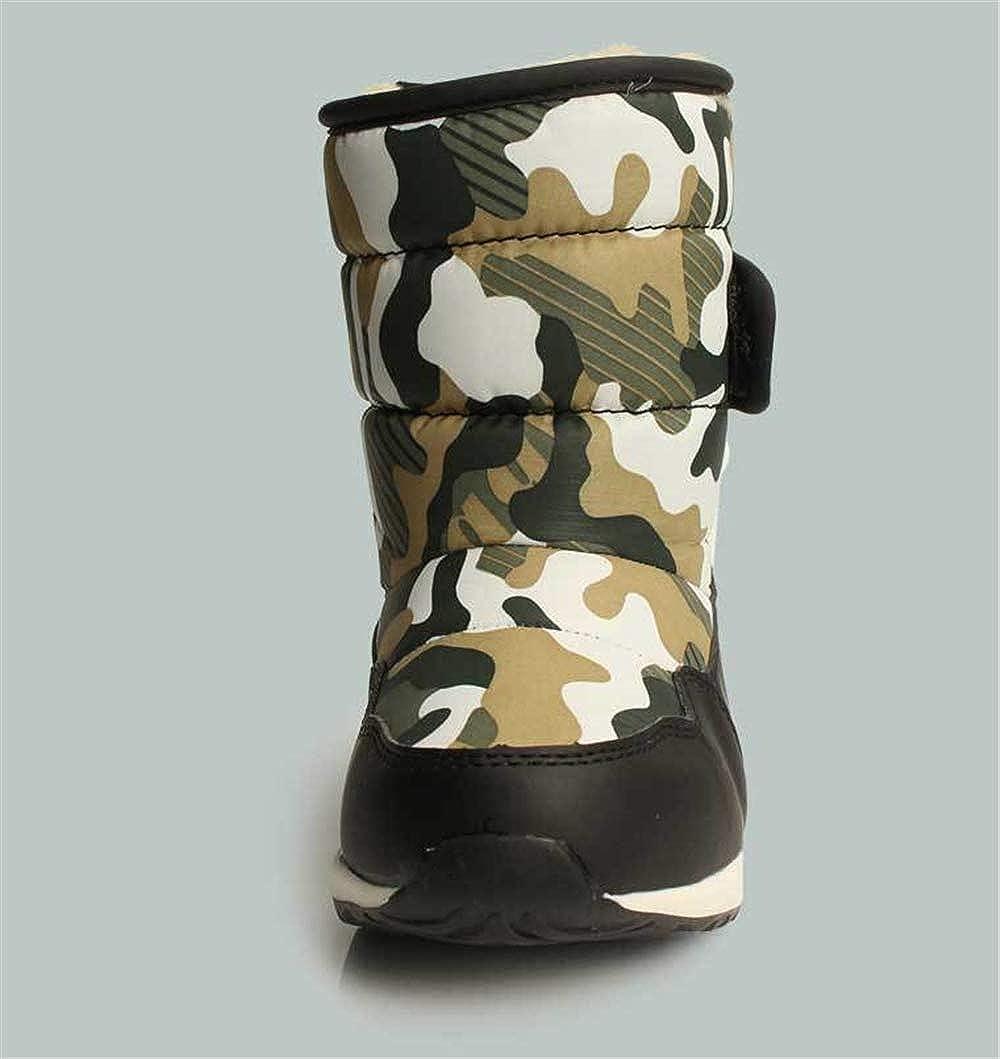 Toddler//Little Kid//Big Kid zgshnfgk Boys /& Girls Insulated Fur Winter Waterproof Snow Boots