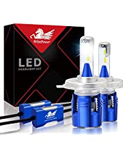 WinPower 2 X LED Headlight Bulbs Conversion Kit 10400 Lumens 6000K Cool White CSP Chips Car LED Bulbs, 2 Yr Warranty
