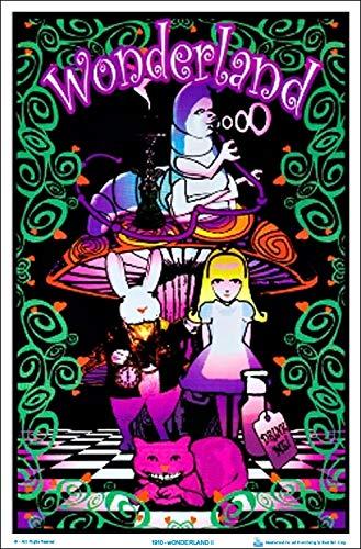 - Wonderland II Blacklight Poster Blacklight Poster Print, 23x35