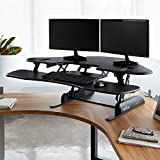 VARIDESK - Height-Adjustable Standing Desk for Cubicles - Cube Corner 48