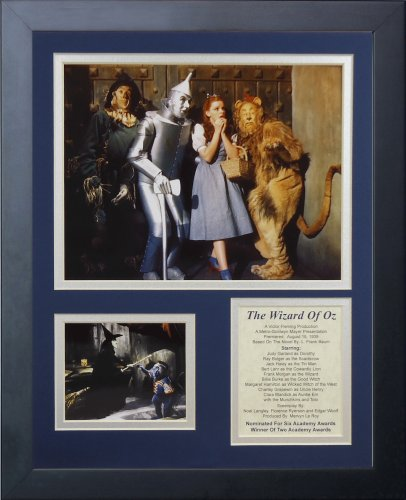 Legends Never Die Wizard of Oz Group II Framed Photo Collage, ()