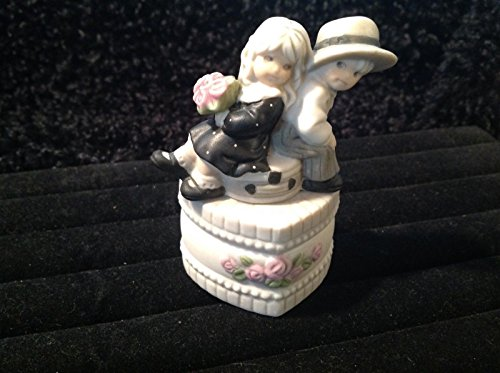 Pretty As A Picture Kim Anderson's JUST YOU & ME ALWAYS - #472506 Heart Shape Trinket Box
