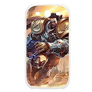 Garen-006 League of Legends LoL case cover Iphone 5/5S Plastic White