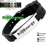 Magnetic Energy Germanium Armband Power Bracelet Health Bio 5in1 Bio 9245