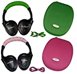 Best Infrared Headphones - Two Wireless 2 Channel Fold Flat Infrared Rear Review
