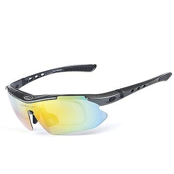 Originaltree deportes gafas polarizadas UV gafas de protección resistente al viento al aire libre Ciclismo Gafas