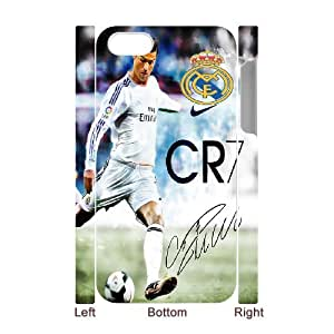 Cristiano Ronaldo for iphone 4 4S 3D Cell Phone Case & Custom Phone Case Cover R36A879305
