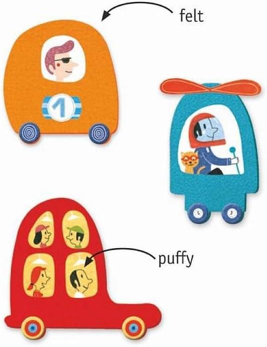 Djeco I Love Cars Stickers