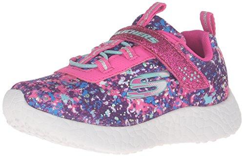 Skechers Kids Burst Illuminations Sneaker (Little Kid/Big Kid/Toddler) Pink/Multi