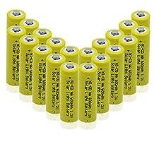 Generic Solar Light AA Ni-CD 600mAh Rechargable Batteries (Pack of 20)