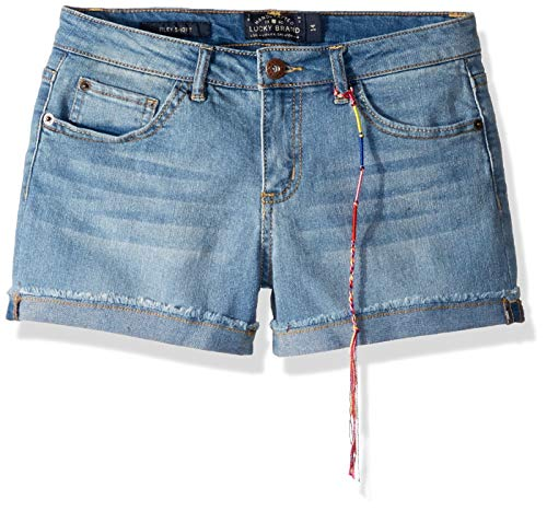 Lucky Brand Big Girls' Riley Short, Christie, 12