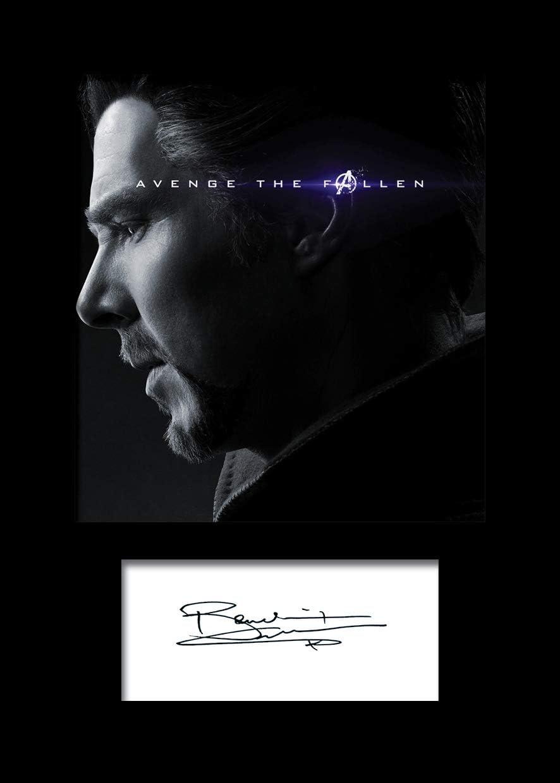 maschinell geschnitten passend f/ür 15,2 x 20,3 cm gro/ße Rahmen Sammlerst/ück Geschenk A5-Gr/ö/ße Benedict Cumberbatch #6 Foto-Nachdruck auf Passepartout