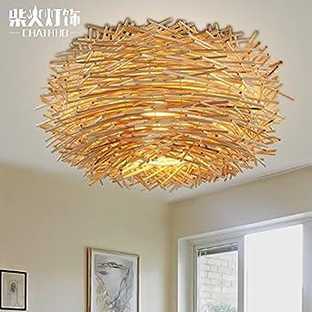 TYDXSD Innovative US-amerikanischer Country Schlafzimmer Decke Lampe ...