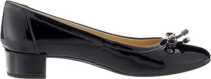 TALLA 36 EU. Geox D Carey D, Zapatos de Tacón para Mujer