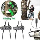 Dappre 2PCS Tree Climbing Tool Simple to Use Pole