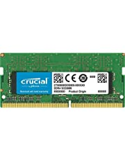 Crucial CT8G4SFS8266 8Go (DDR4, 2666 MT/s, PC4-21300, Single Rank x8, SODIMM, 260-Pin) Mémoire