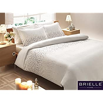 Brielle Bamboo Cascade Duvet Cover Set, Comes in a Giftable Box, King
