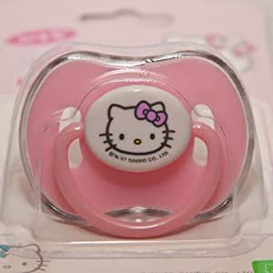 Amazon Com Sanrio Hello Kitty Baby Pacifier Pink For