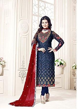 d49bdd792b Amazon.com: Designer Party Wear Pants Style Straight Punjabi Salwar Kameez  Patiala Custom to Measure Indian Ethnic wear 2781: Clothing