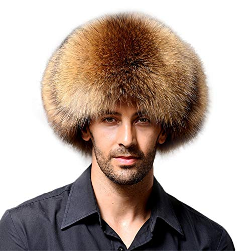 YAHUIPEIUS Faux Fur Bomber Hat Russian Ushanka Hat Tapper Hat with Earflap
