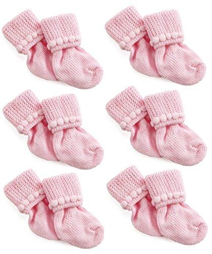 Pink Newborn Socks Nurses Choice product image