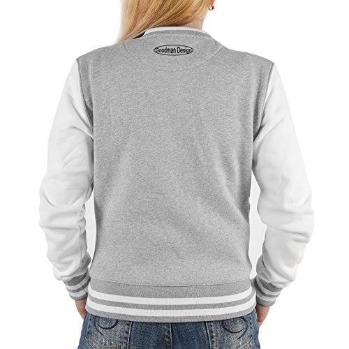 Mujer Detail Para Gris Art Shirt amp; Chaqueta XAxS5q4C