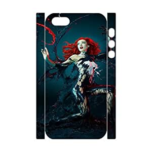 Paint Girl HILDA084090 3D Art Print Design Phone Back Case Customized Hard Shell Protection Iphone 5,5S