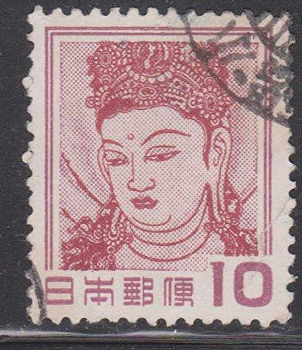 Guanyin God of Mercy Japan Postage Stamp -