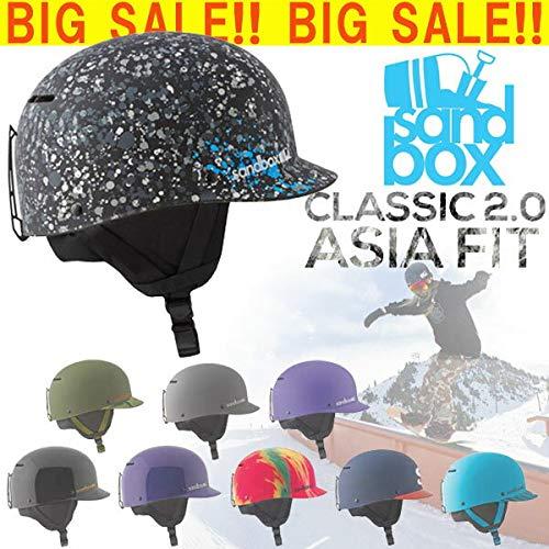 あす楽対応 SANDBOX/サンドボックスヘルメット CLASSIC 2.0 ASIA FIT アジ B07J6G86F9  PURPLE(GLOSS) S/M