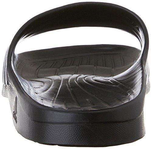 Adidas Kvinners Duramo Elegante Slide Sandal Sort / Hvitt