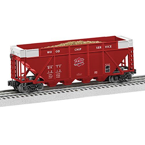 (Lionel MKT Woodchip Hopper Train)
