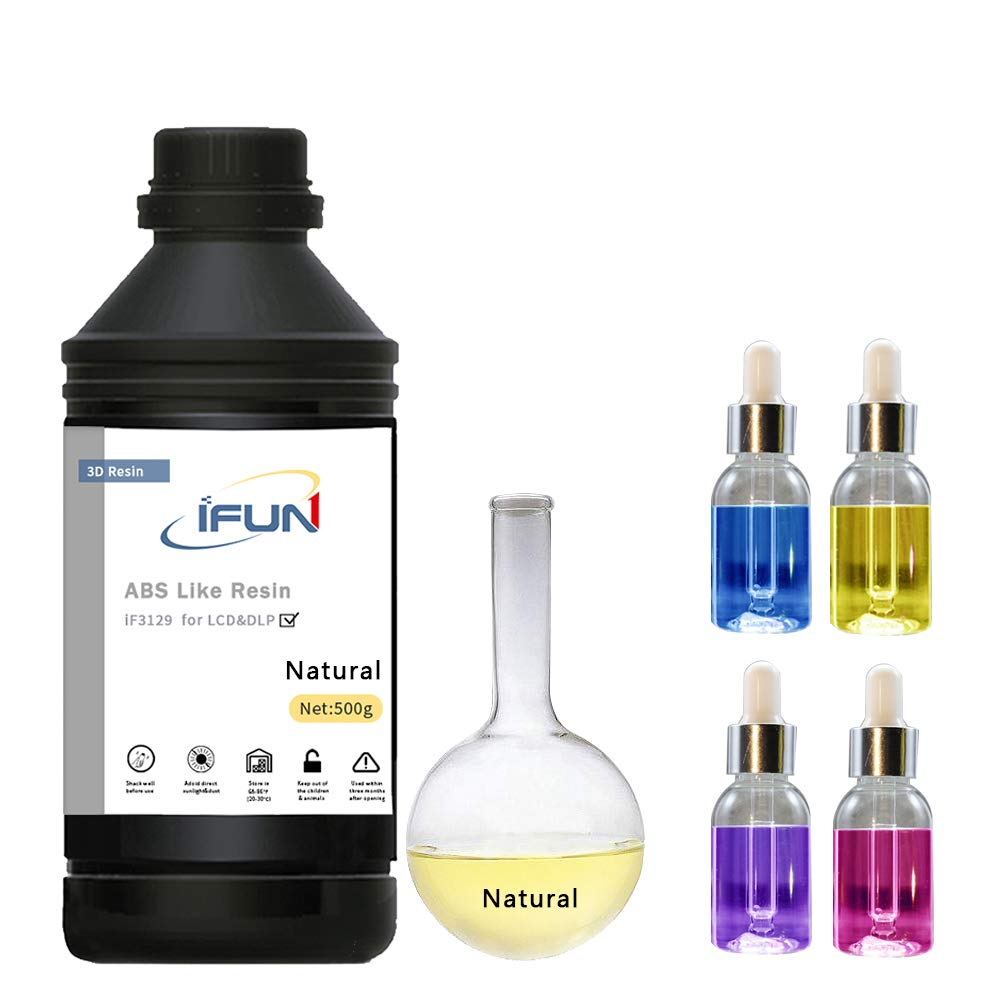 IFUN ABS como resina para impresora LCD DLP altamente resistente a ...